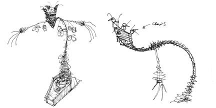 Kudzu-Scarecrow-Sketches